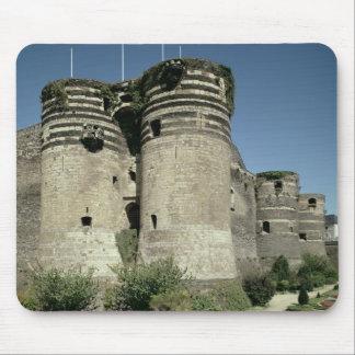 Los d'Angers del castillo francés, terminados 1238 Tapete De Ratones
