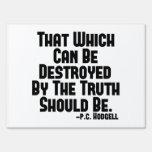 Los daños de la verdad