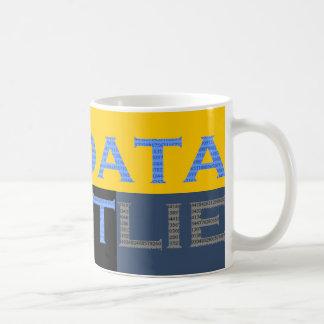 Los datos no mienten taza
