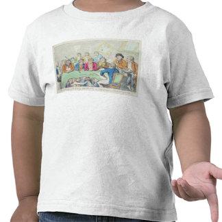 Los delegados en consejo o mendigos a caballo camisetas