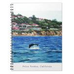 Los delfínes acercan a Palos Verdes Libreta Espiral