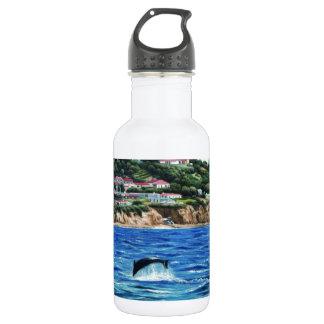Los delfínes acercan a Palos Verdes