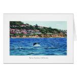Los delfínes acercan a Palos Verdes Tarjeta