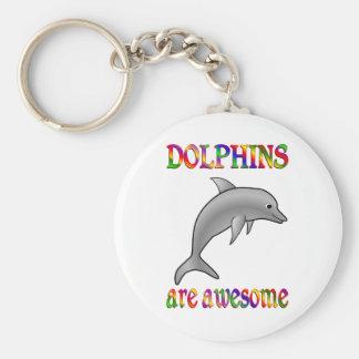 Los delfínes son impresionantes llaveros