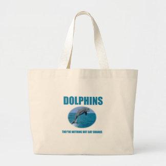 Los delfínes son tiburones gay bolsa