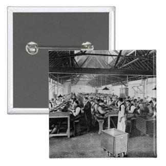 Los departamentos de la fabricación del cigarro pin cuadrada 5 cm
