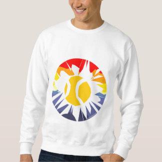 Los deportes de los hombres visten el suéter del