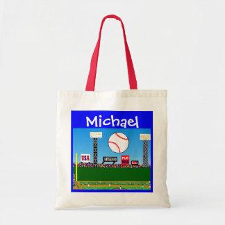 Los deportes de los niños personalizaron el regalo bolsas