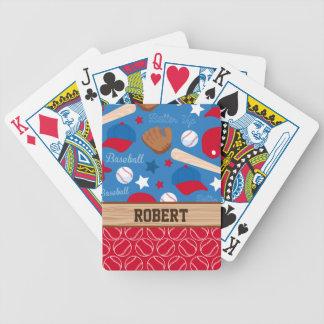 Los DEPORTES personalizan el modelo conocido de la Baraja Cartas De Poker