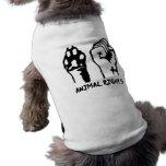 Los derechos de los animales camisa de perro