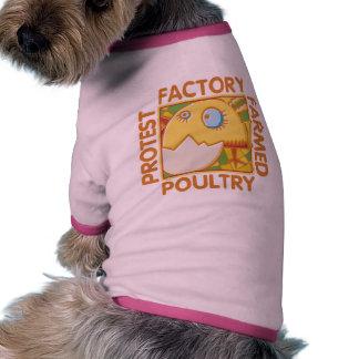 Los derechos de los animales de la granja de la fá camisas de mascota