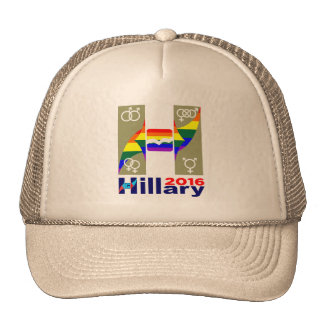Los derechos de los homosexuales 2016 del logotipo gorros