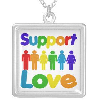 Los derechos de los homosexuales de la ayuda colgante