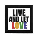 Los derechos de los homosexuales del AMOR correcto Cajas De Joyas