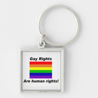 Los derechos de los homosexuales llavero