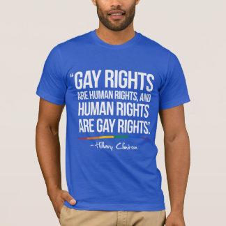 Los derechos de los homosexuales son derechos playera