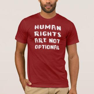 Los derechos humanos no son camiseta básica