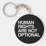 LOS DERECHOS HUMANOS SON NO OPCIONALES - .PNG LLAVEROS PERSONALIZADOS