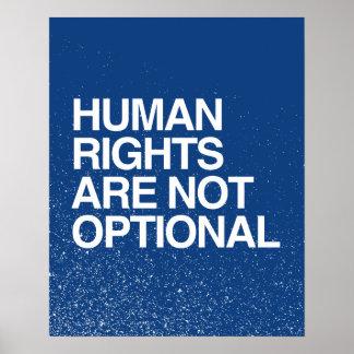 LOS DERECHOS HUMANOS SON NO OPCIONALES - .PNG IMPRESIONES