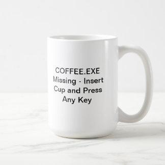 Los desaparecidos de COFFEE.EXE - inserte la taza