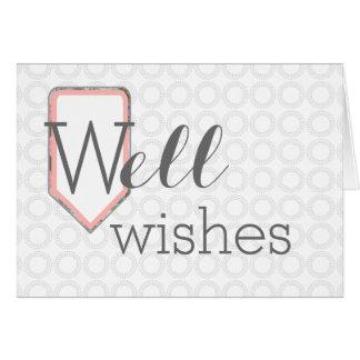 Los deseos del pozo el   consiguen a pozo el tarjeta pequeña