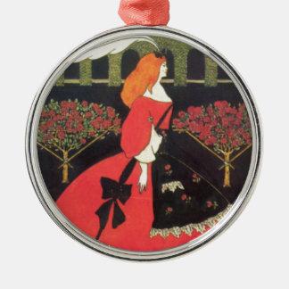 Los deslizadores de Cenicienta de Aubrey Beardsley Adorno De Reyes