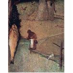 Los detalles de St Christopher de Hieronymus Bosch Esculturas Fotográficas