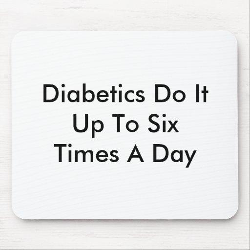 Los diabéticos lo hacen tapete de ratones