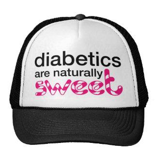 Los diabéticos son naturalmente dulces gorro de camionero