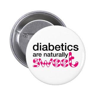 Los diabéticos son naturalmente dulces pin