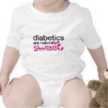 Los diabéticos son naturalmente dulces trajes de bebé