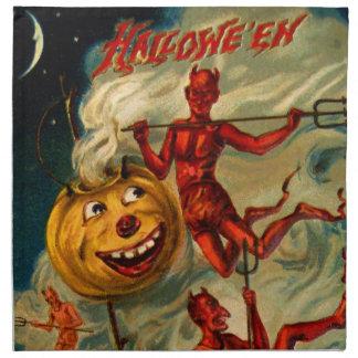 Los diablos aligeran para arriba Jack O'Lanterns Servilleta De Papel