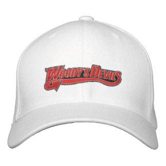 Los diablos de Woody bordaron el gorra Gorra De Béisbol