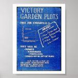 Los diagramas del jardín de victoria, liberan para poster