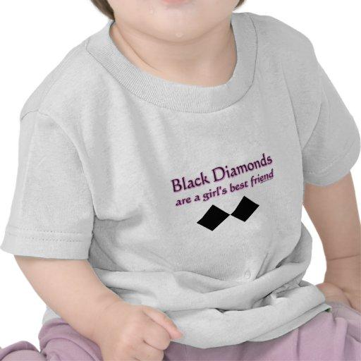 Los diamantes negros son un mejor amigo de los camiseta