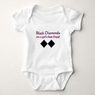 Los diamantes negros son un mejor amigo de los polera