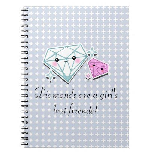 Los diamantes son cuaderno de los mejores amigos d