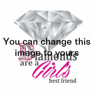 Los diamantes son el mejor amigo de un chica esculturas fotograficas