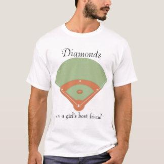 Los diamantes son el mejor amigo de un chica playera