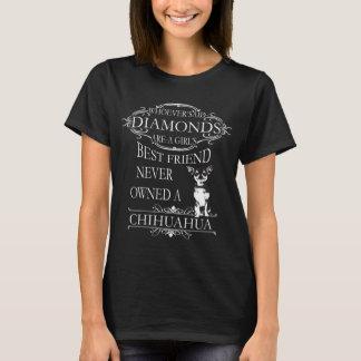 ¿Los diamantes son el mejor amigo de un chica? Playera