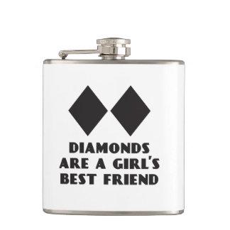 Los diamantes son frasco del mejor amigo de un chi