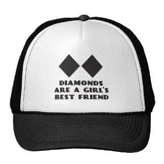 Los diamantes son gorra del camionero del mejor am
