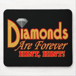 Los diamantes son para siempre camisetas y regalos tapete de ratones