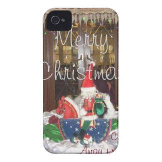 Los días de fiesta de las Felices Navidad de fuera iPhone 4 Cárcasas