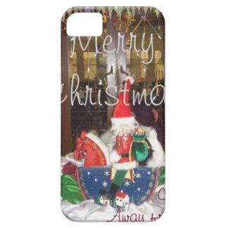 Los días de fiesta de las Felices Navidad de fuera iPhone 5 Funda