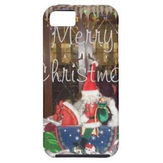 Los días de fiesta de las Felices Navidad de fuera iPhone 5 Fundas