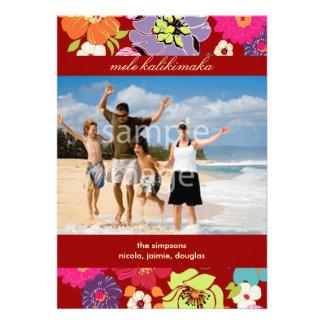 Los días de fiesta photocards invitan