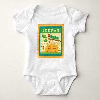 Los días soleados calientes muy hambrientos de body para bebé