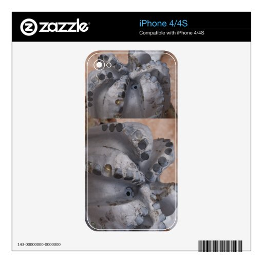 Los dientes del dragón calcomanía para iPhone 4S