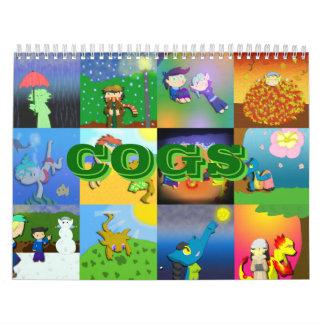 Los DIENTES hacen calendarios 2014